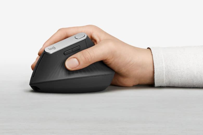 Logitech MX Vertical mouse packs pro features into ergonomic