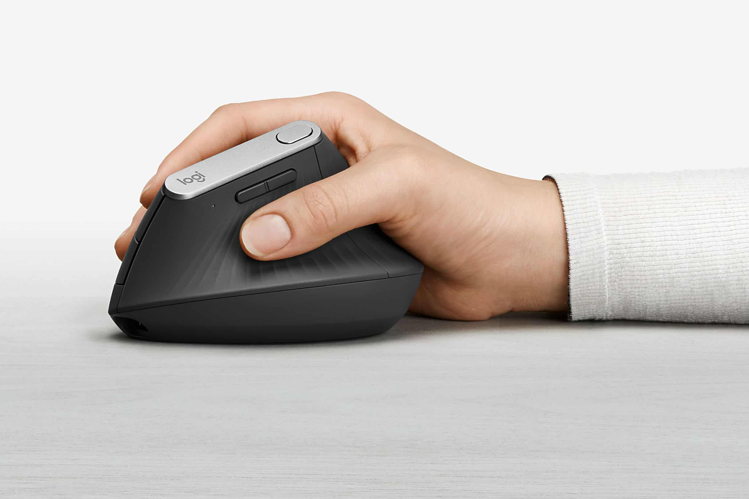 The Logitech MX Vertical ergonomic mouse is here to save your wrist.