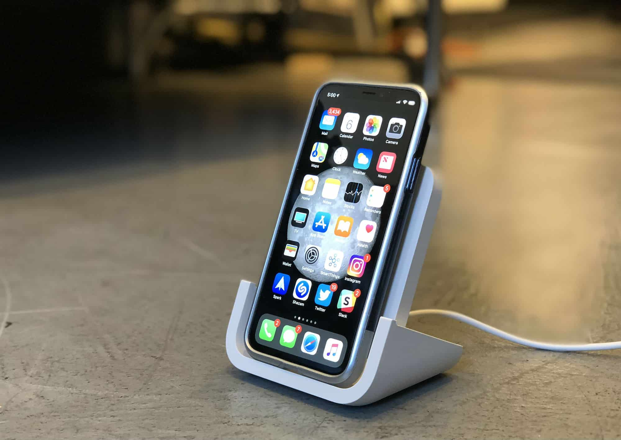 Logitech Powered wireless charger review: iPhone charging is
