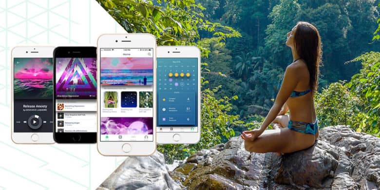 This meditation app offers guided meditation sessions and breathing exercises with tools for tracking your practice over time.