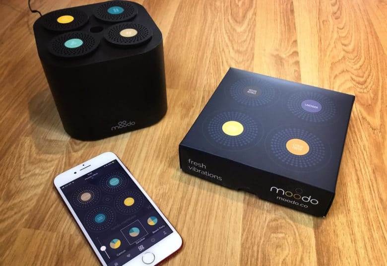 Moodo Lets You Control The Way Your Home Smells From Iphone