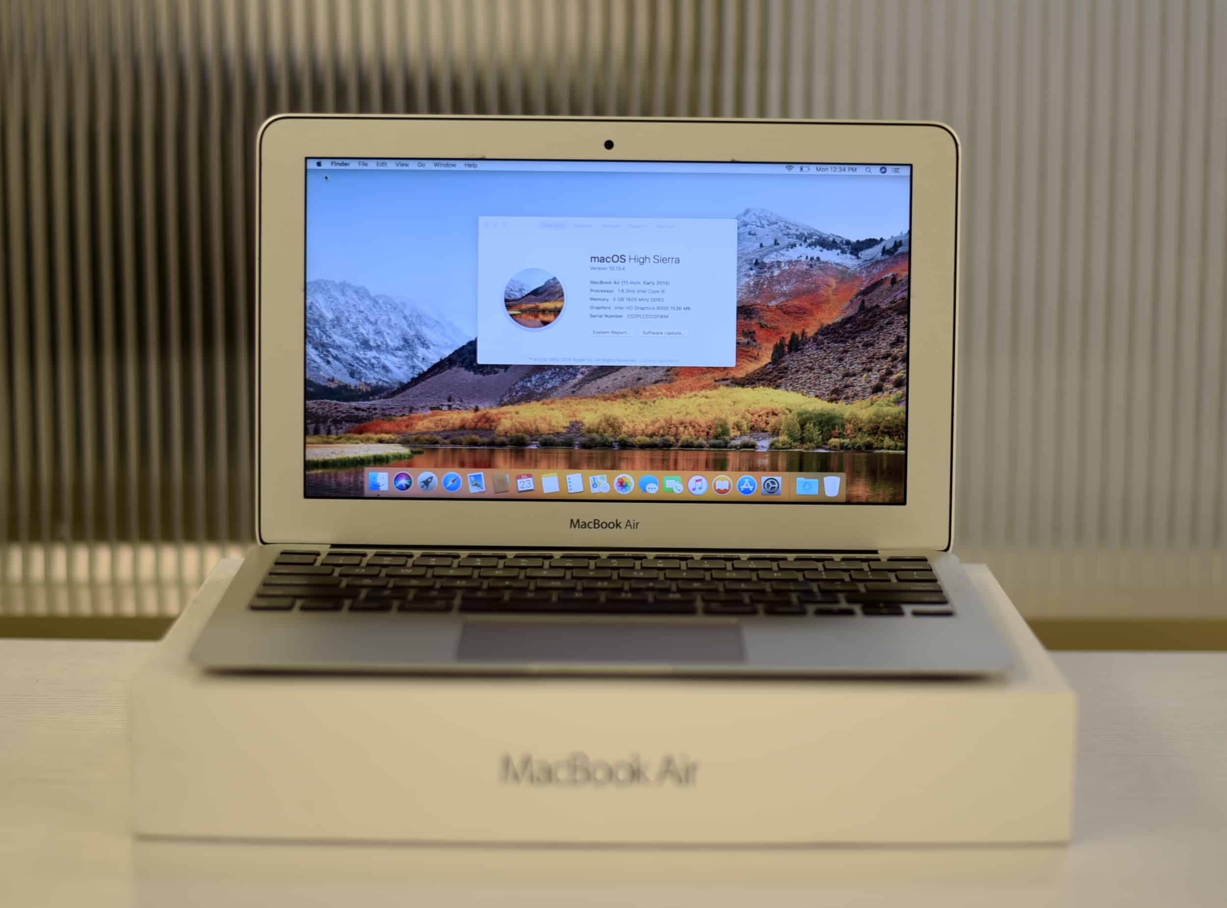 rerun MacBook Air