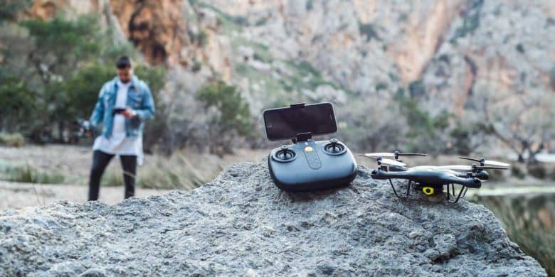 This drone is loaded with features ideal for beginners and pros alike, plus it's super affordable.