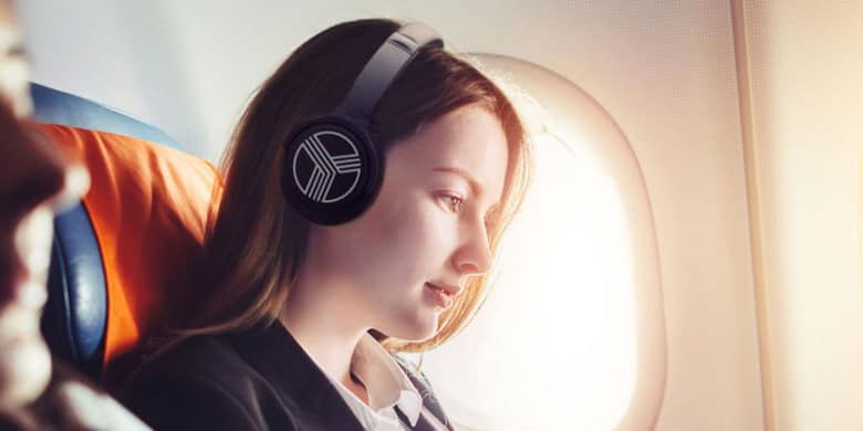 These over-ear headphones combine 35 hour battery life with Bluetooth convenience and noise cancellation.