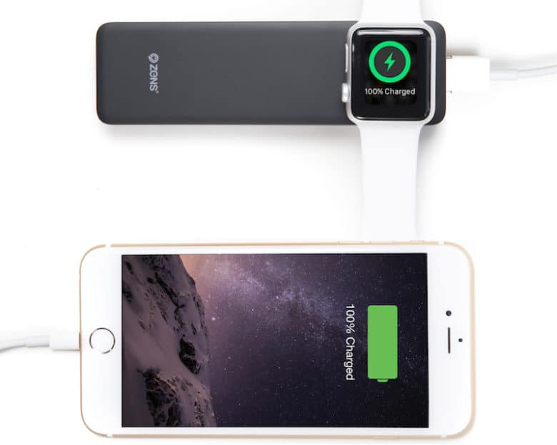 buy online f217b 0b6e9 Recharge your Apple Watch & iPhone with this compact 2-in-1 battery ...