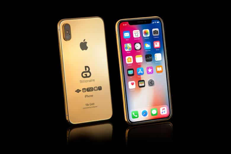 Fat Cats Can Order their Gold-dipped 2018 iPhones Right Now