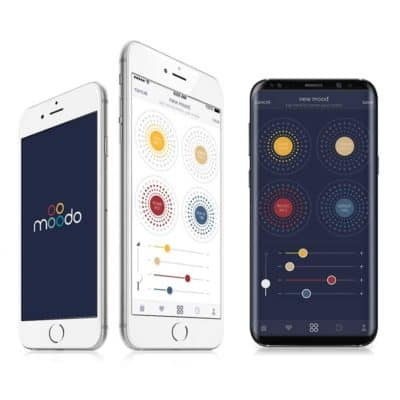 MoodoThe Moodo app is well designed and easy to use.