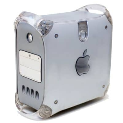 The iMac G4 Mirrored Doors Power Mac G4 certainly looked distinctive.