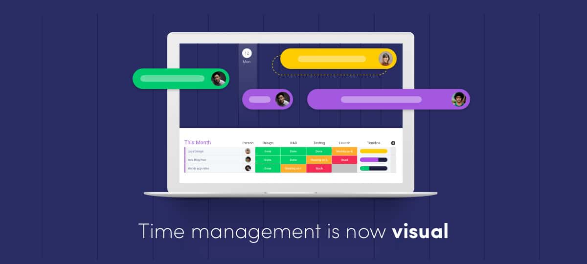 monday.com brings refined visual design to the team management space.