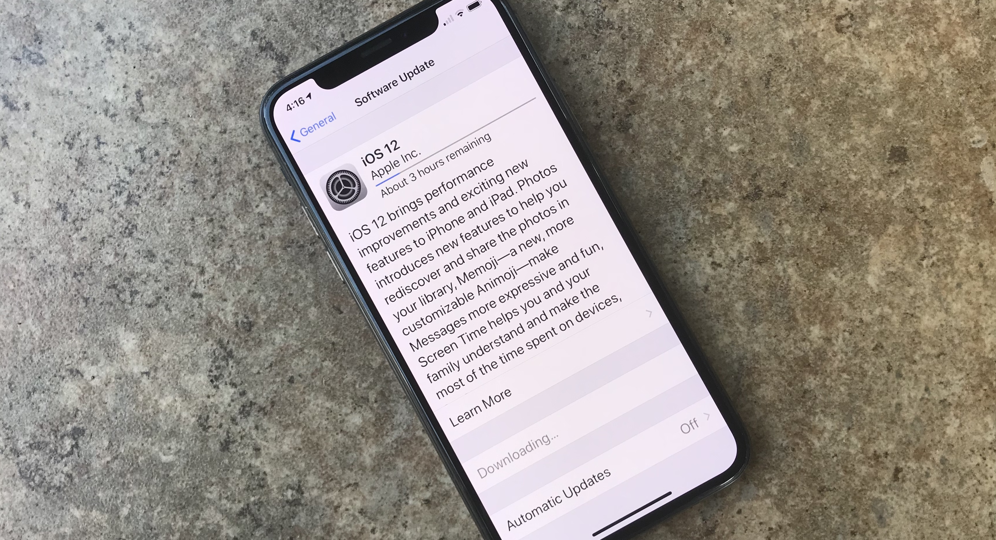 The official iOS 12 release date is next week, but you can download it now.