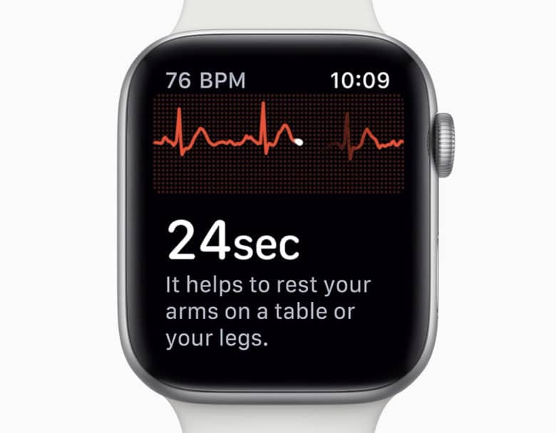 How to test ecg on apple watch 4