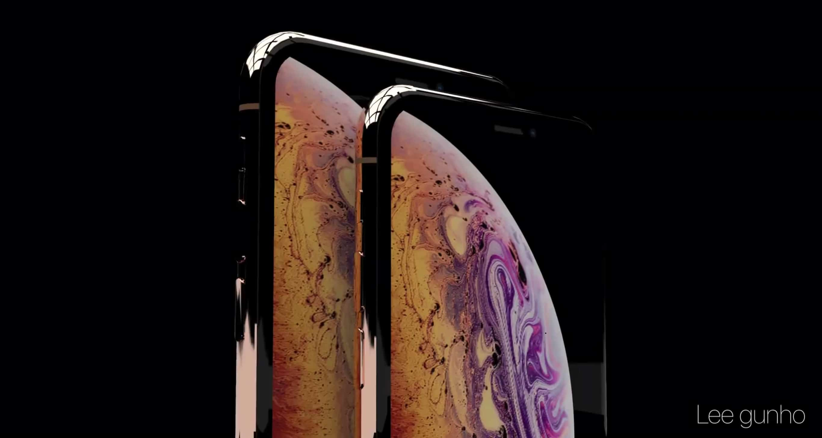 This could be the iPhone XS Plus and iPhone XS, Apple's 2018 iPhone models.