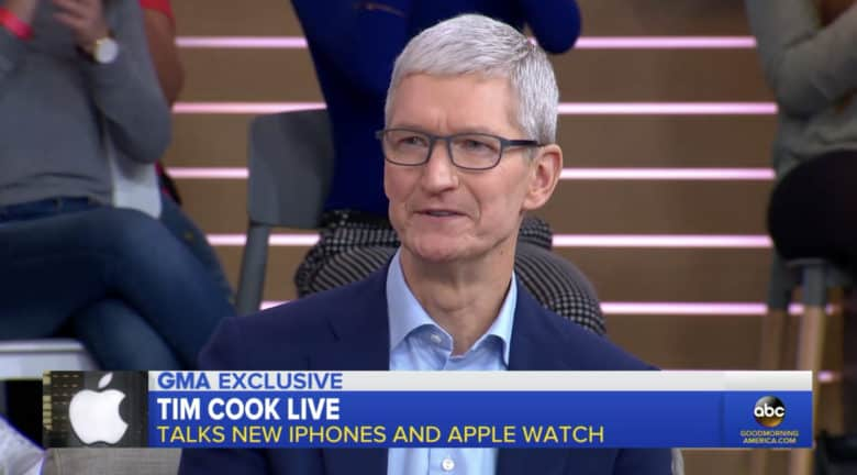 Tim Cook on Good Morning America
