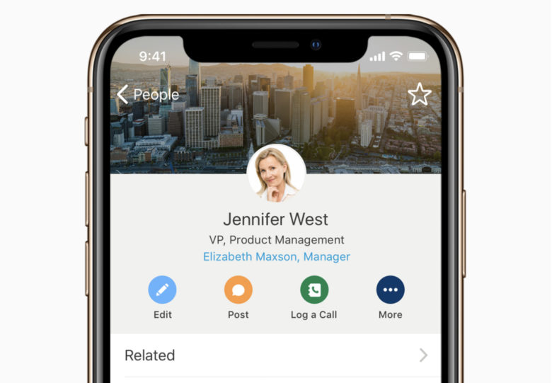 Salesforce iOS