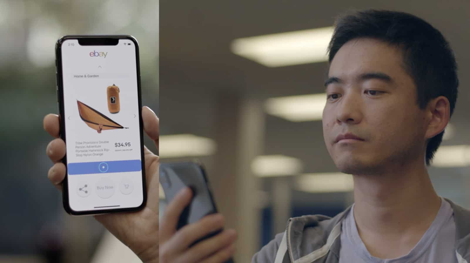 HeadGaze uses the iPhone X 3D camera to move an on-screen cursor with subtle head motions.