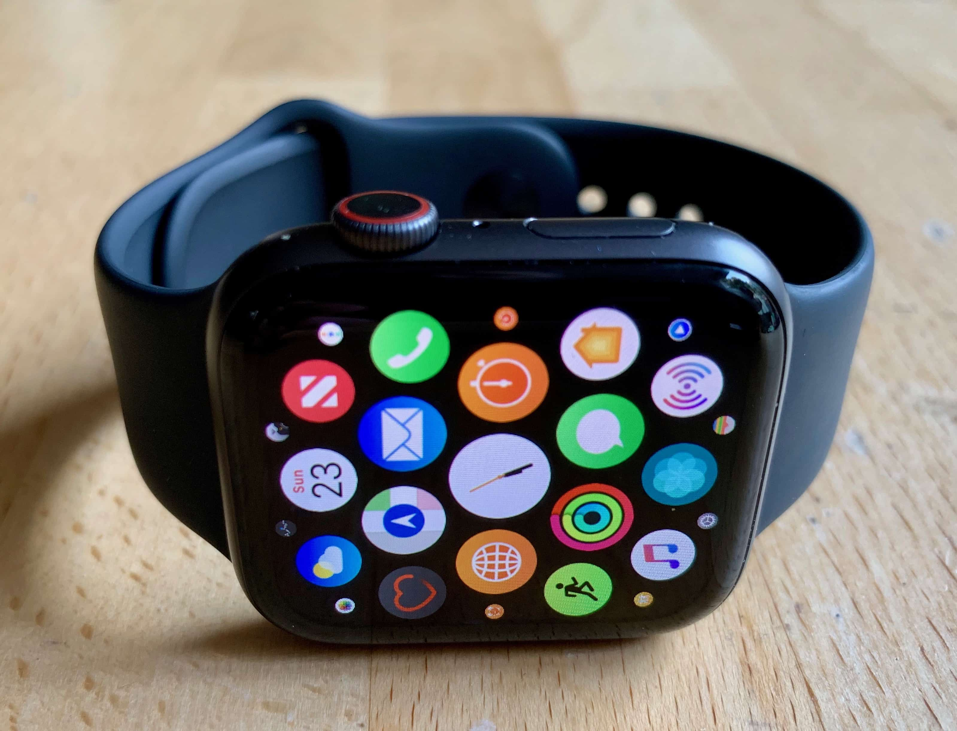 App Home Screen Apple Watch Series 4