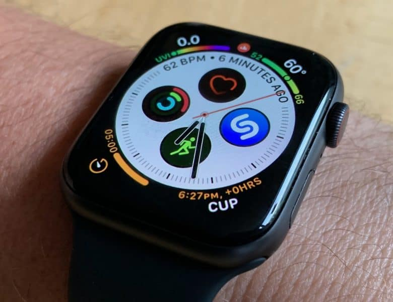 Apple Watch Series 4 Infogram Watch Face