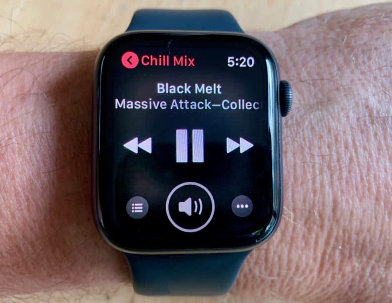 Apple Watch Series 4 Music App