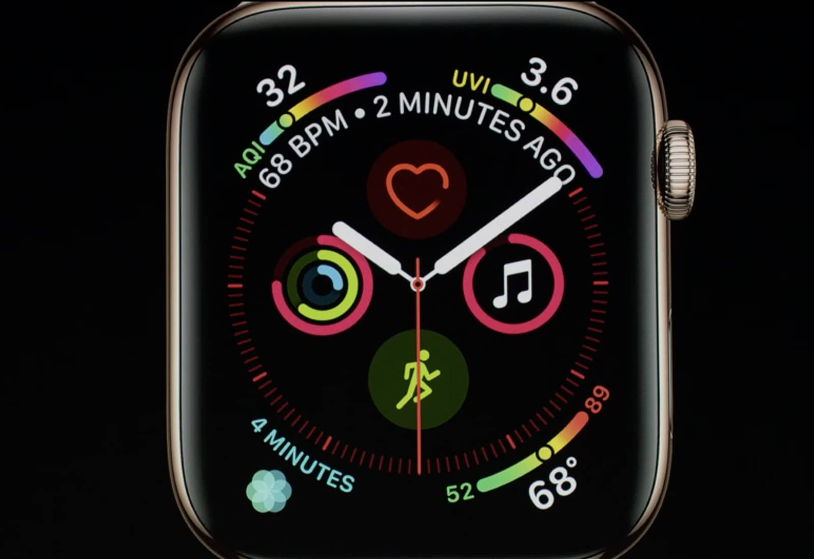 Infograph Apple Watch face
