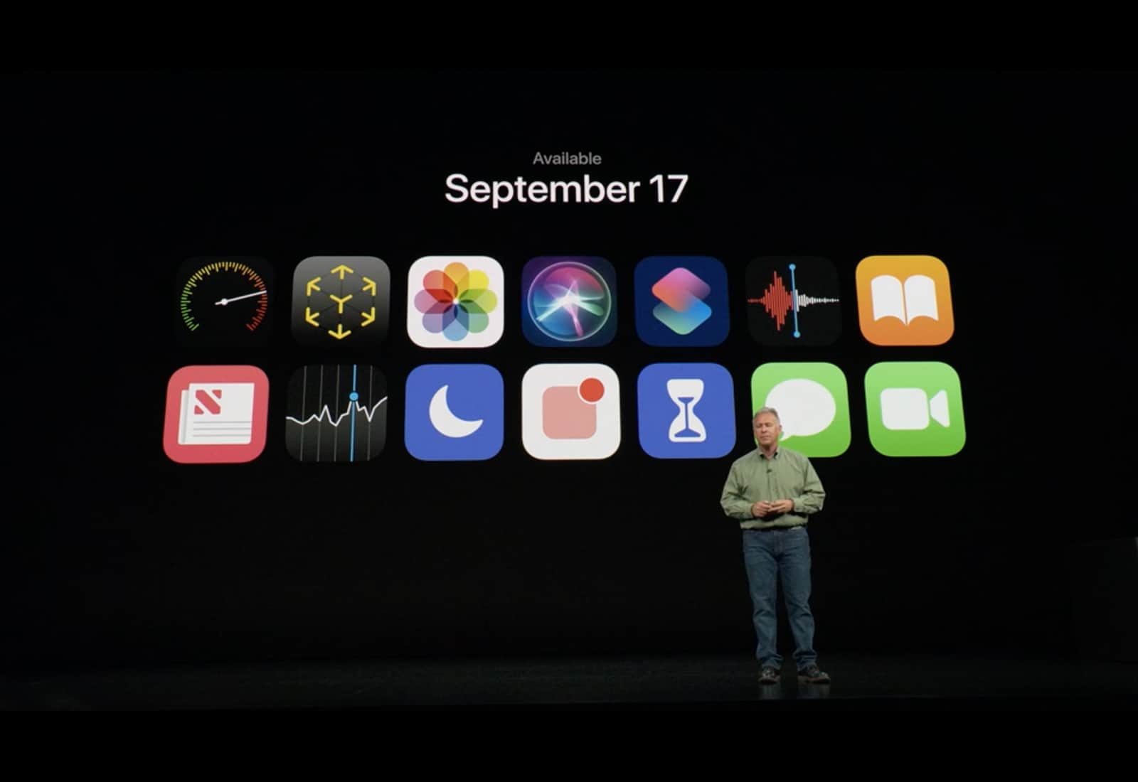 iOS 12 launched on September 17