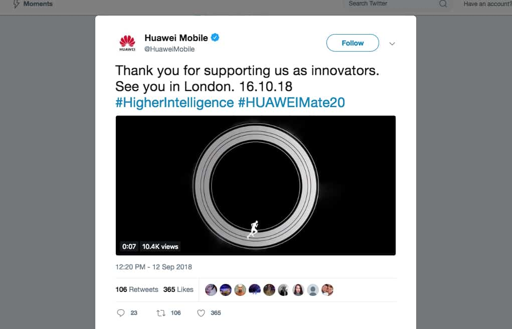Huawei promises foldable phone within a year