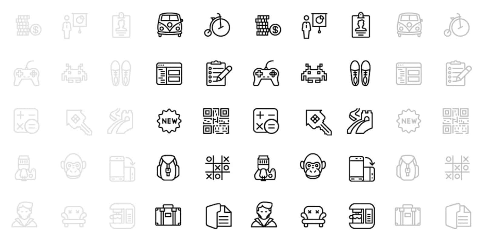 This membership offers lifetime access to a massive library of top-shelf icon assets, along with all future updates.