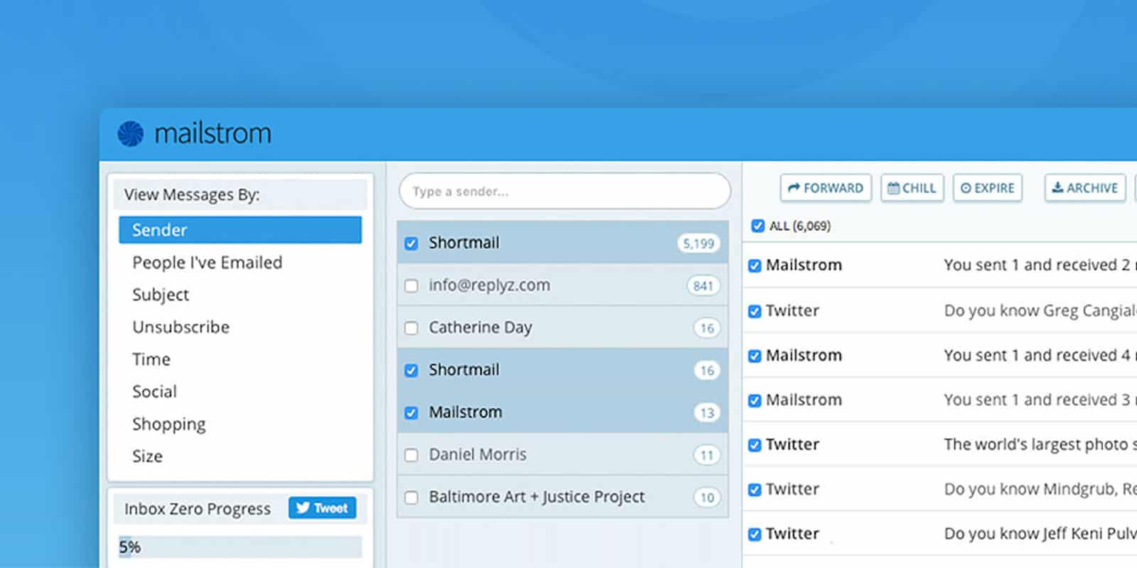 Master your email inbox with this straightforward but powerful set of inbox management tools.