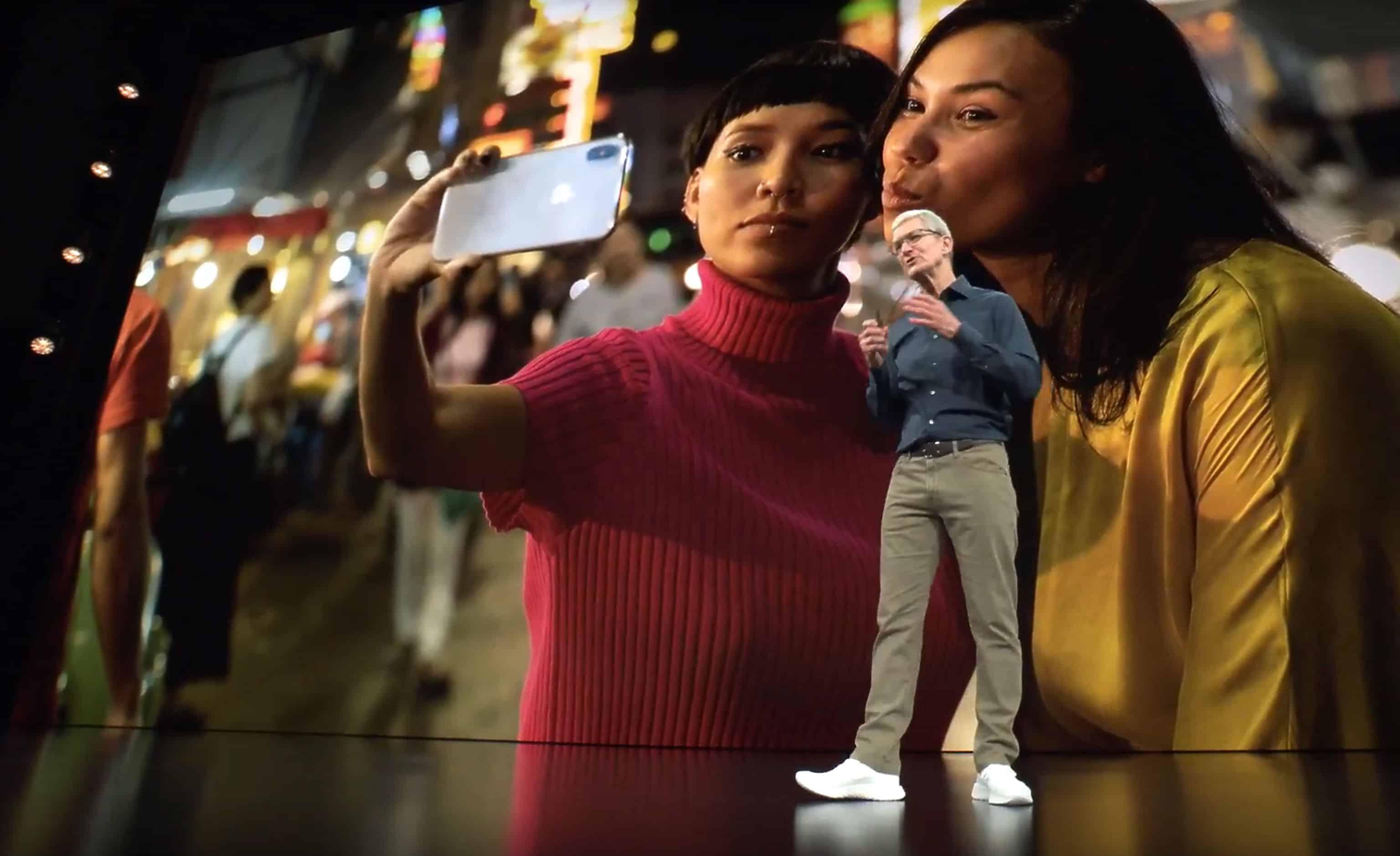 iPhone XS selfies