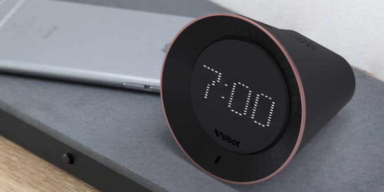 Enhance your morning routine with an alarm clock equipped full Alexa functionality.