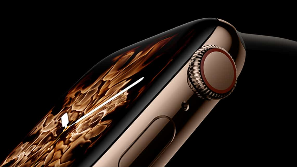 The rounded corners on Apple Watch Series 4 presents new design challenges for watch app developers.