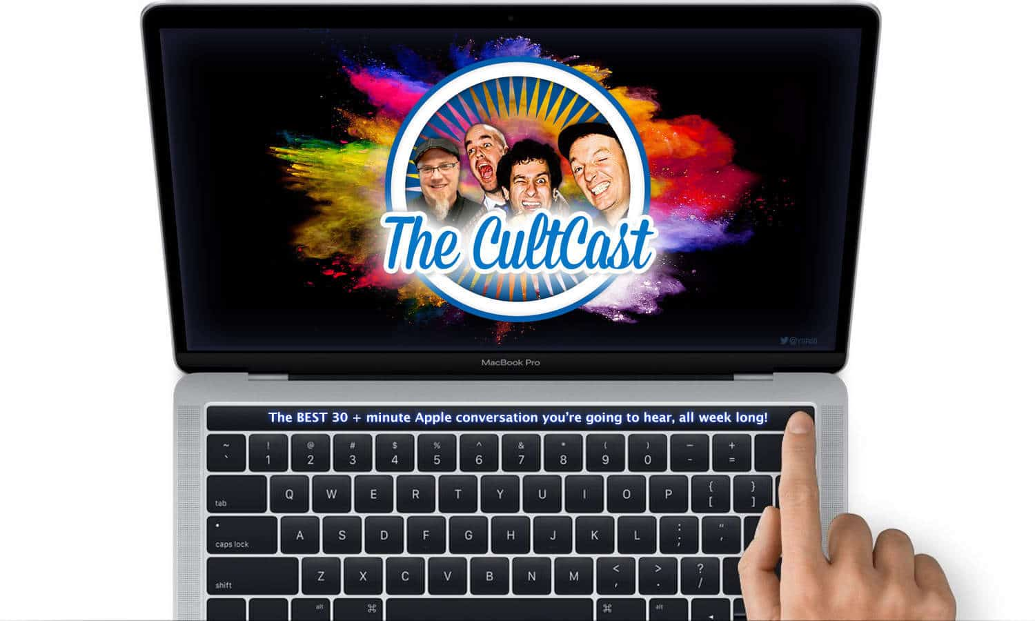 CultCast Gather Round MacBook Pro