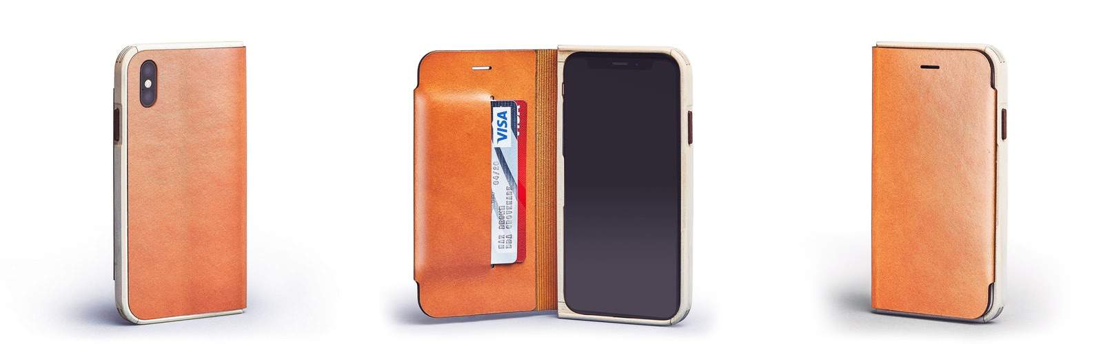 f7737f708ff9 I'm totally into this lovely maple and leather iPhone XS wallet case from  Grovemade