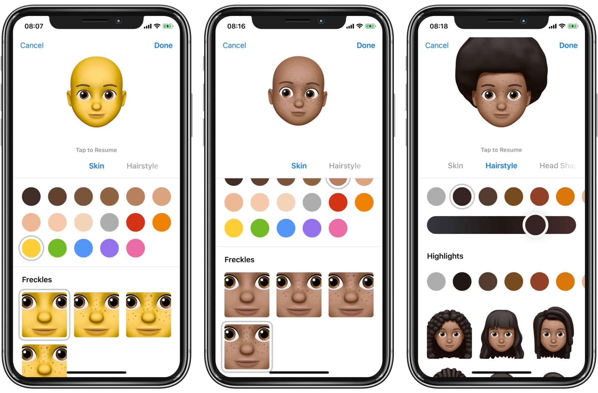 The Memoji editor is both comprehensive and fun.