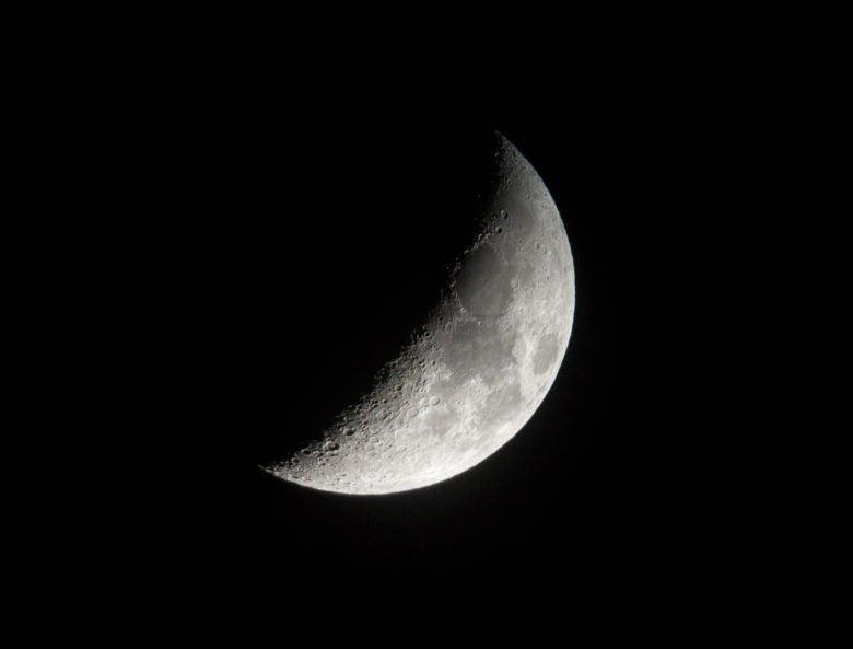 iPhone moon pictures