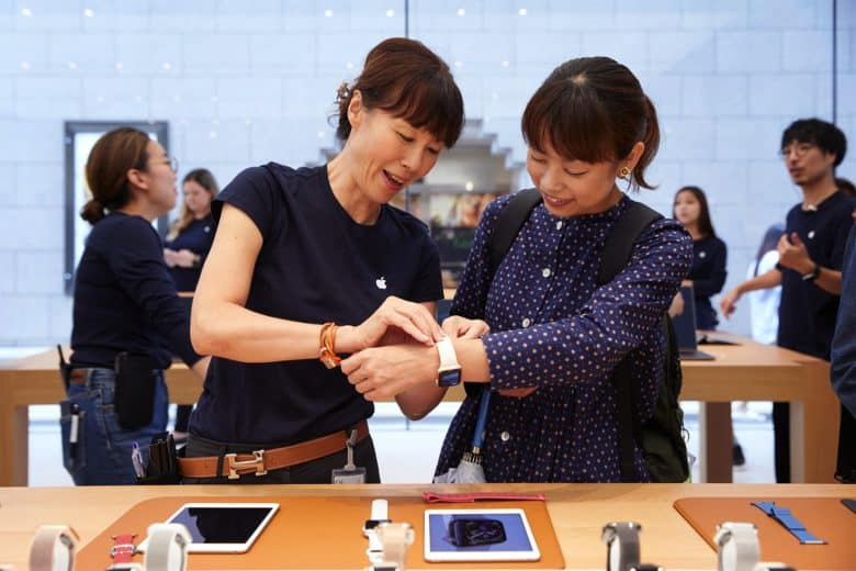 Apple Watch Series 4 Kyoto