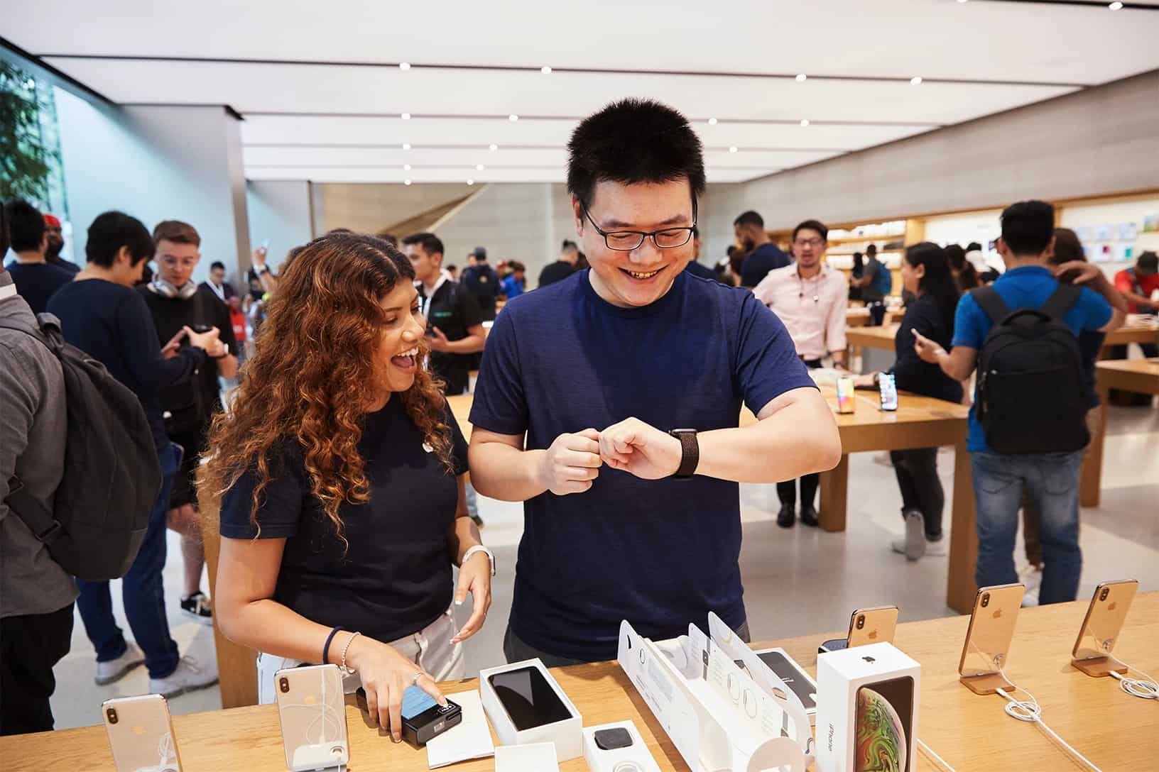 Apple Watch in Singapore