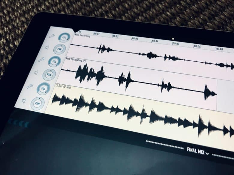 Short of recording Skype, Ferrite does everything you need to make a podcast.