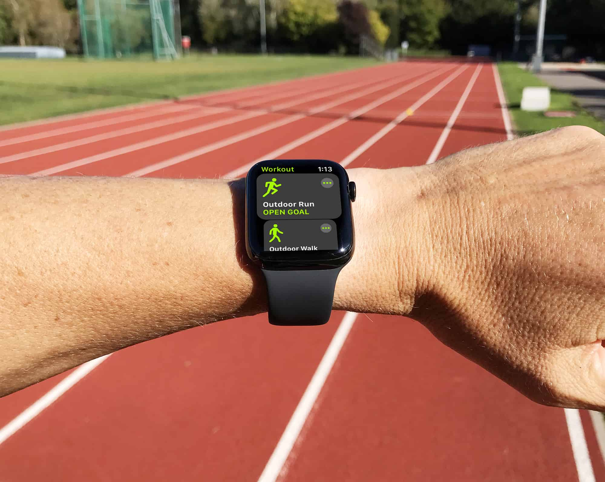 We took Apple Watch Series 4 to the running track for the ultimate test of GPS accuracy