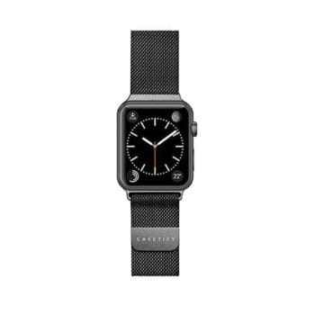 Casetify Steel Mesh Apple Watch band in black