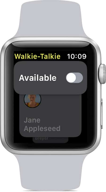You can opt out of live Walkie-Talkie messages whenever you like.