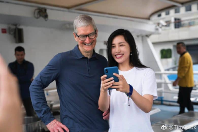 Tim Cook China 1
