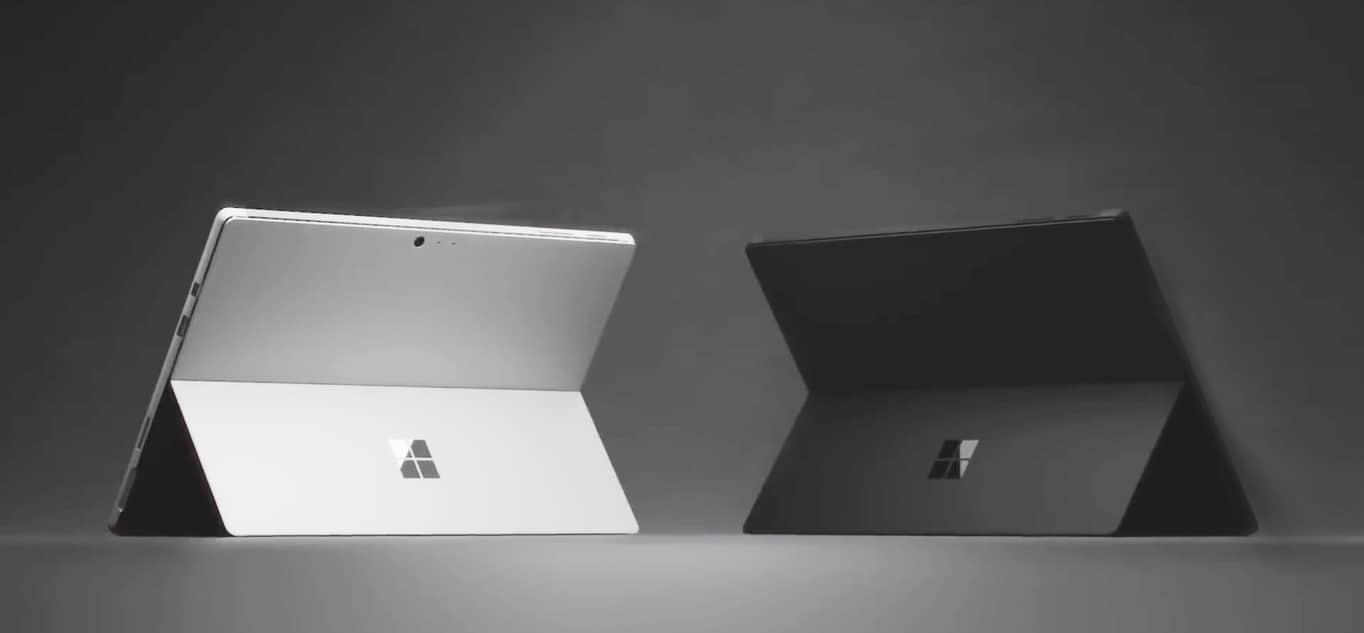 One of the major changes in the Surface Pro 6 is it comes in black. Woo.