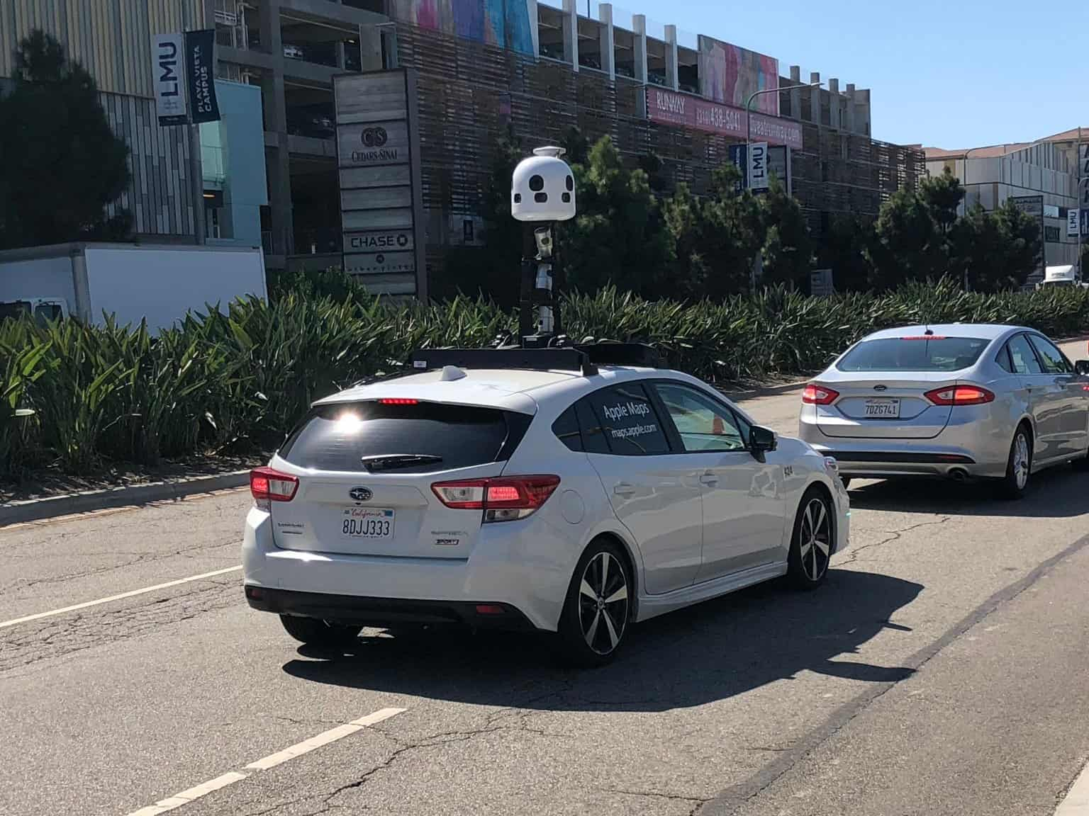 Apple's Second-generation Mapping Vehicles Spotted in the Wild