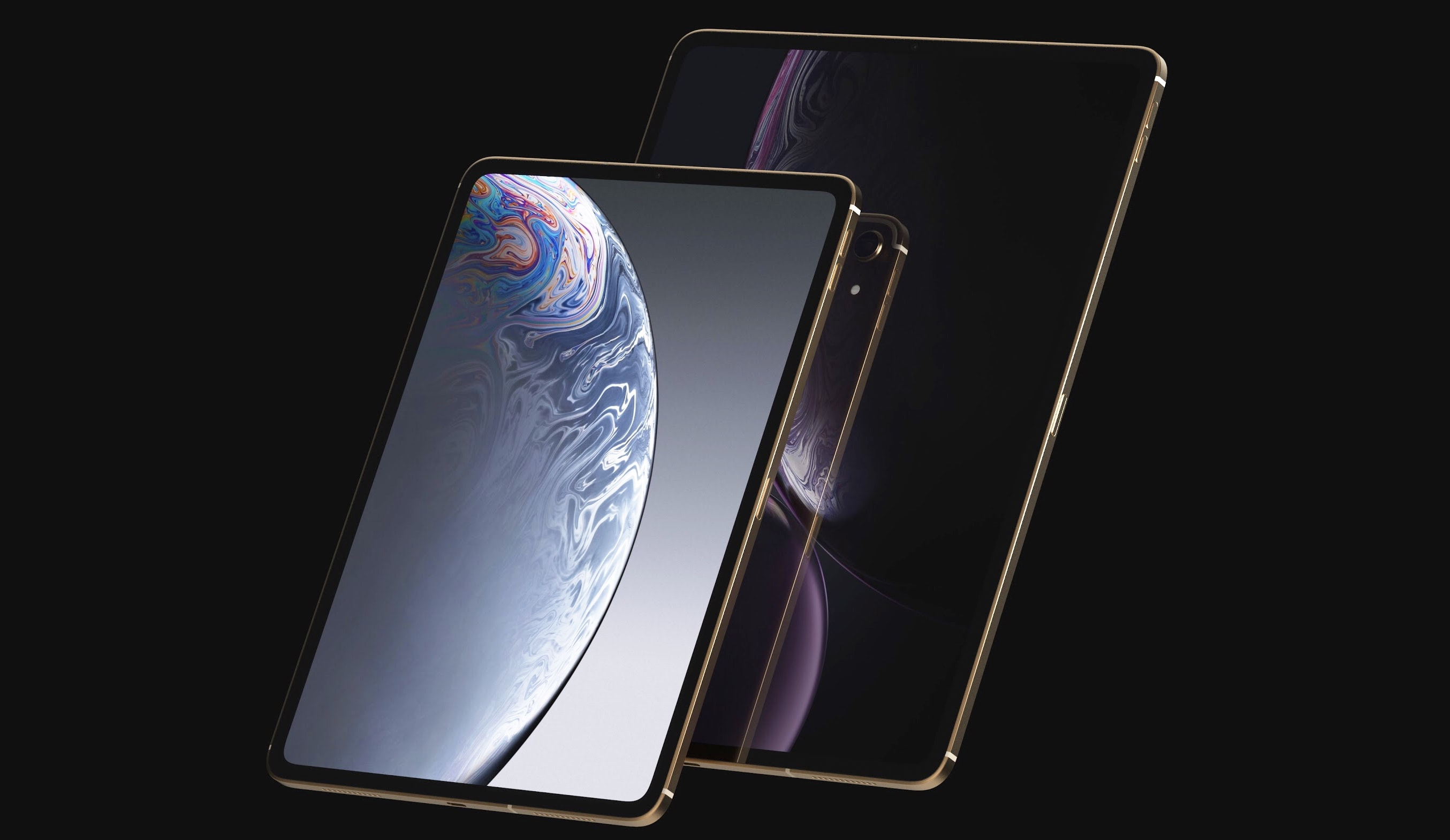 The 2018 iPad Pro has supposedly been redesigned without without the Home button. And without a Lightning port too.