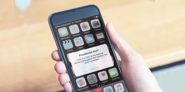 FEMA and the FCC will send Americans a pair of emergency alerts today