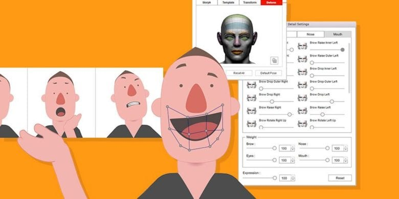 Easily create animations with fully articulated characters, and even Face Capture-powered facial movements and speech sync.