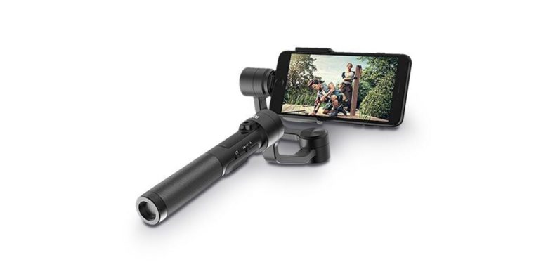 Easily shoot ultra steady video and take crisp photos with this flexible, stable gimbal for iPhone and GoPro.