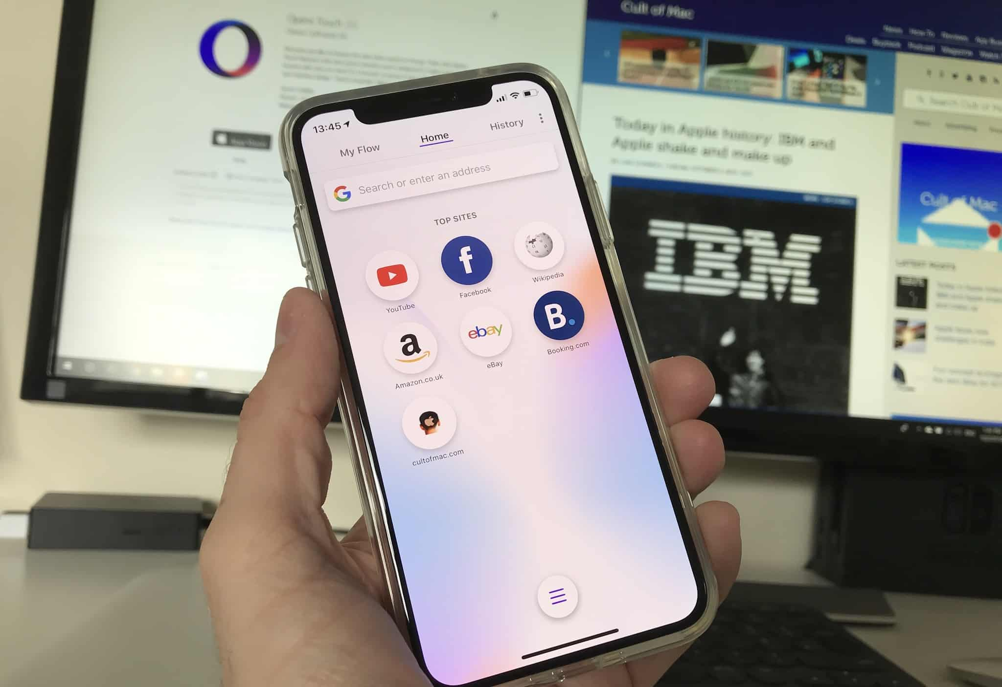 Opera Touch iOS