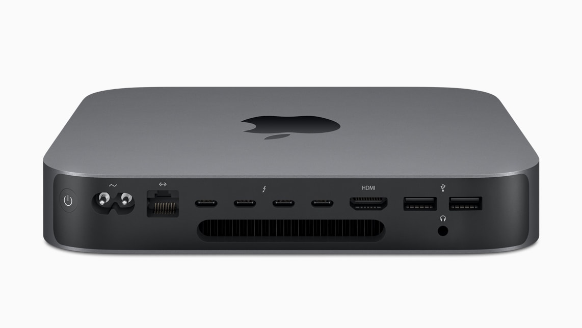 Apple Mac mini 2018 has all the ports you expect from a desktop