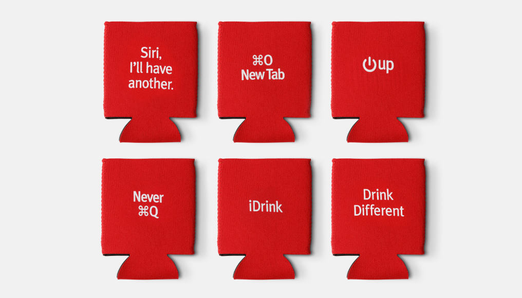 Geek-chic Koozies will Make You 'Drink Different'